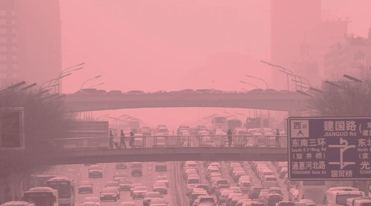 雾霾科幻短片《红雾》
