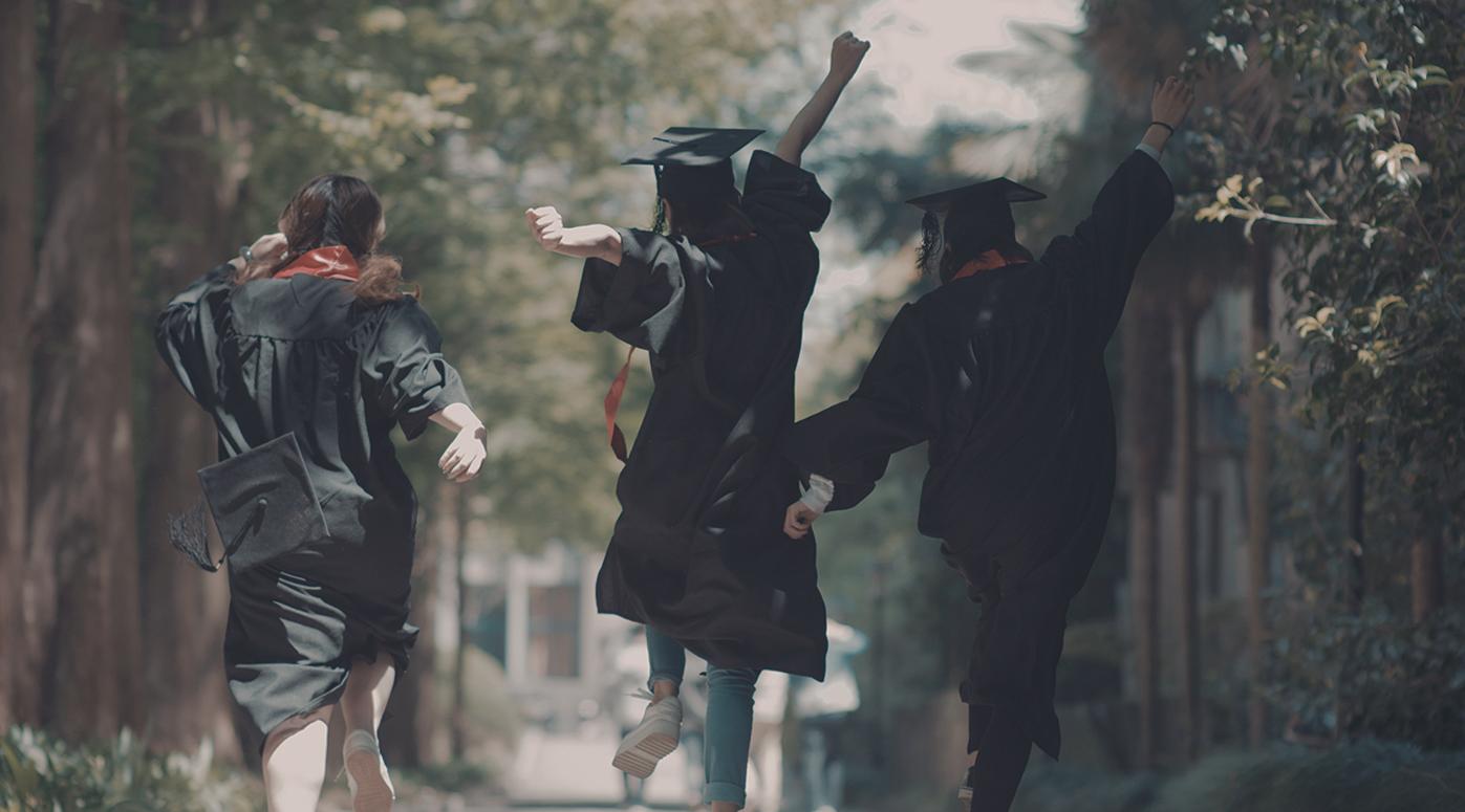 青春洋溢毕业季广告《打包青春不散场》