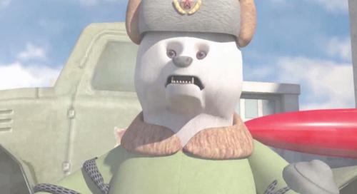 南师大毕设动画《铁猫兔击队》