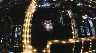 鸟瞰呈贡大学城