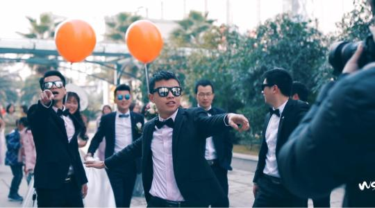 看婚礼摄影师怎样嗨翻自己的婚礼