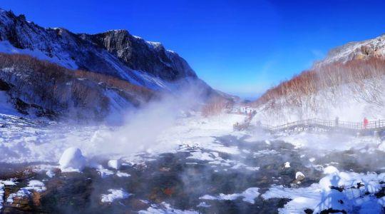 长白山全景视频