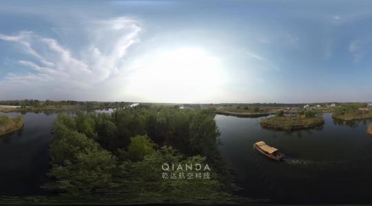 湿地公园航拍VR纪录片-乾达航空科技
