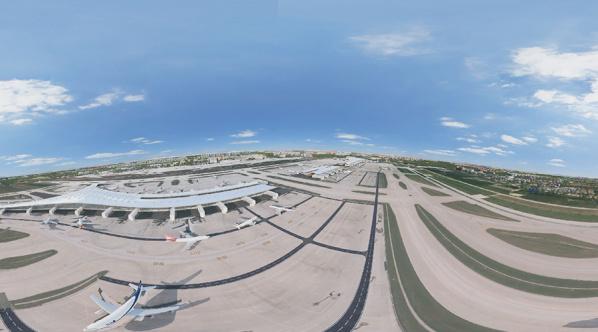 机场三维全景