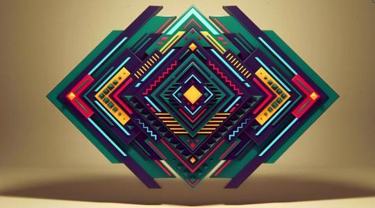 Pure Geometry - Alexey Romanovski 临摹作品