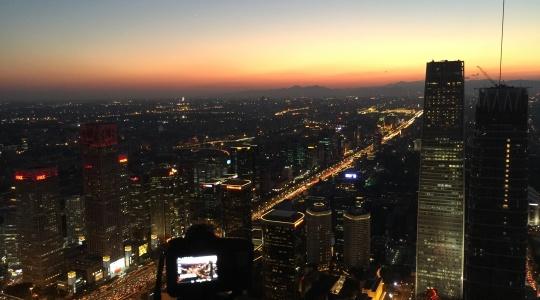北京夕阳无限美