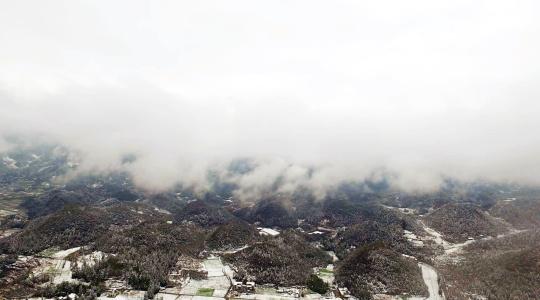 林海雪原,美不胜收。