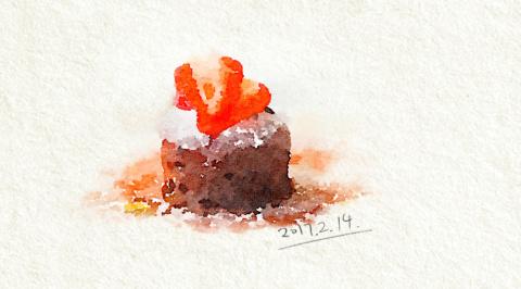 『 浅食记』03:情人节特辑 巧克力熔岩蛋糕