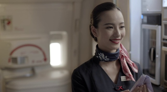 China Eastern airline -Stewardess 东方航空宣传片 空乘篇
