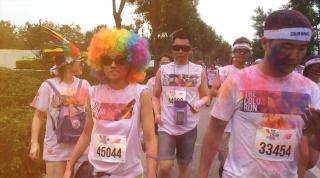 欢乐彩色跑 北京站(手机摄影短片)2014 The Color Run
