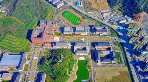 MAVIC PRO一镜到底看浙江大学舟山校区