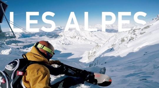 滑雪在阿尔卑斯 Les Alpes
