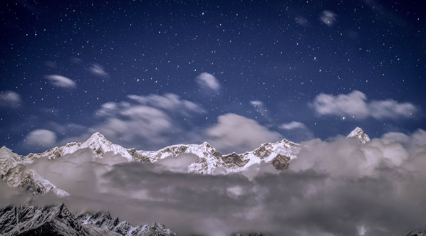 梦中的雪域