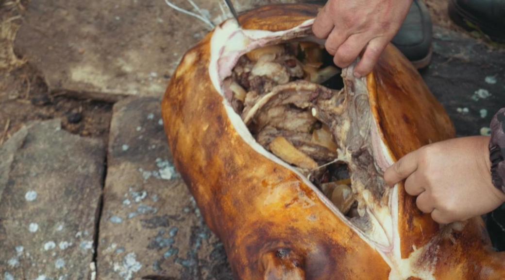 陈师傅跑了上千公里的边境线,居然做出了成吉思汗想吃的烤全羊