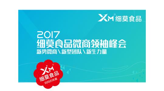 2017细莫食品微商领袖峰会