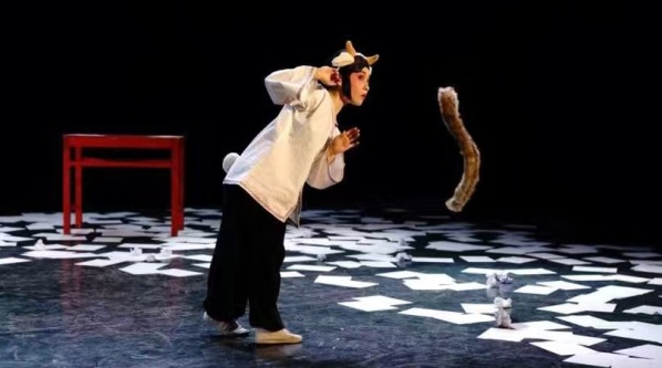 中国戏曲学院导演系2017届日本留学生毕业作品《狼和小羊》