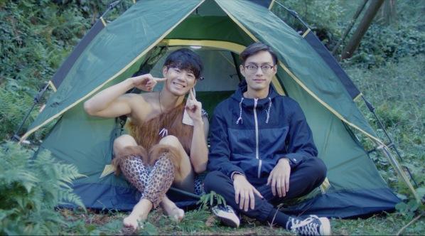 TAWA帐篷广告