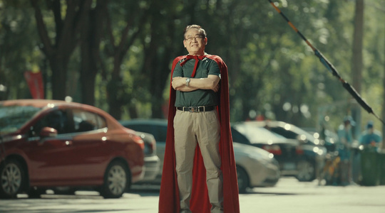 父亲节最不像广告的广告,爸爸是你的超人