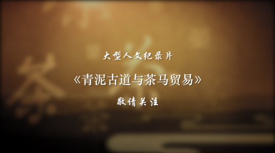 人文纪录片《青泥古道与茶马贸易》预告片