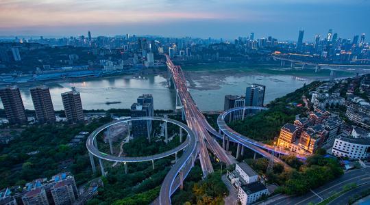 城市延时摄影4K短片《山之城.重庆》