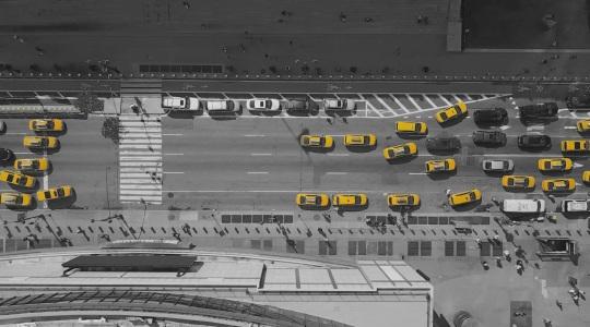 《黄色的出租车》 - 单通道视频 - 陈抱阳