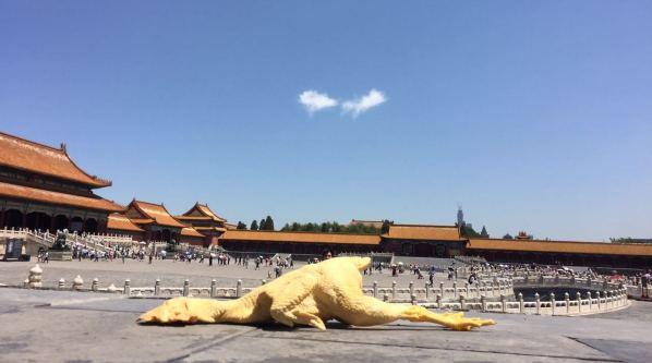 艺视中国丨50岁大叔在故宫里放了只鸡,引全世界的人围观  李铁军
