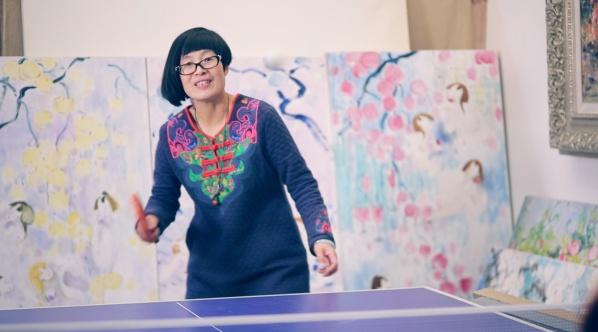 艺视中国丨她用女人体作画,自由自在,肆无忌惮的去释放工作压力
