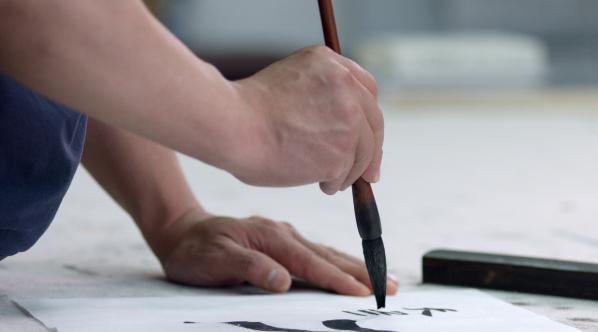 艺视中国|看他如何用三个小时教会外国人学画中国画  袁学君