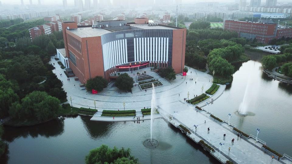 航拍沈阳工业大学- 新片场
