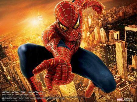 1.蜘蛛侠(英文名:spider man)