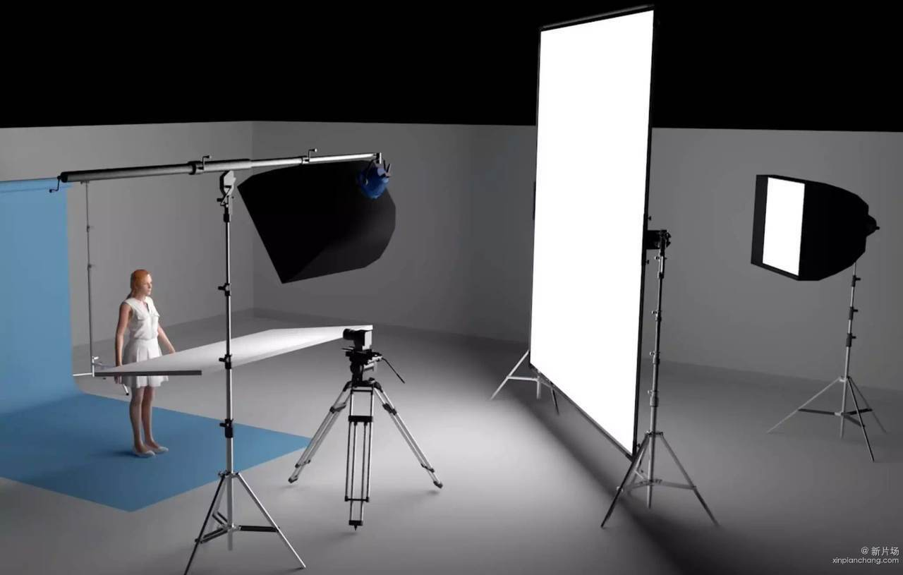 手把手教你美容广告的布光方法!图片