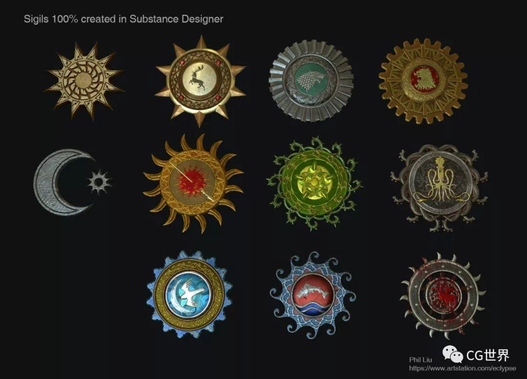 《权游8》烂尾?但概念图很精彩啊!模型+PS过程图