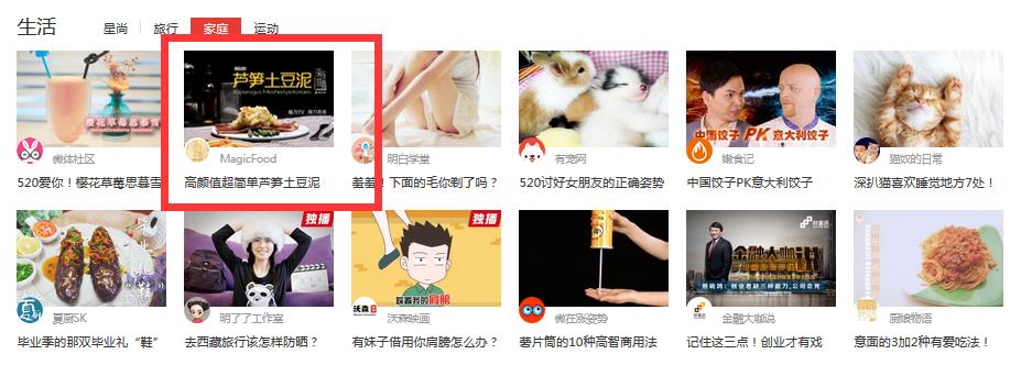深夜放毒20 搜狐生活频道家庭模块