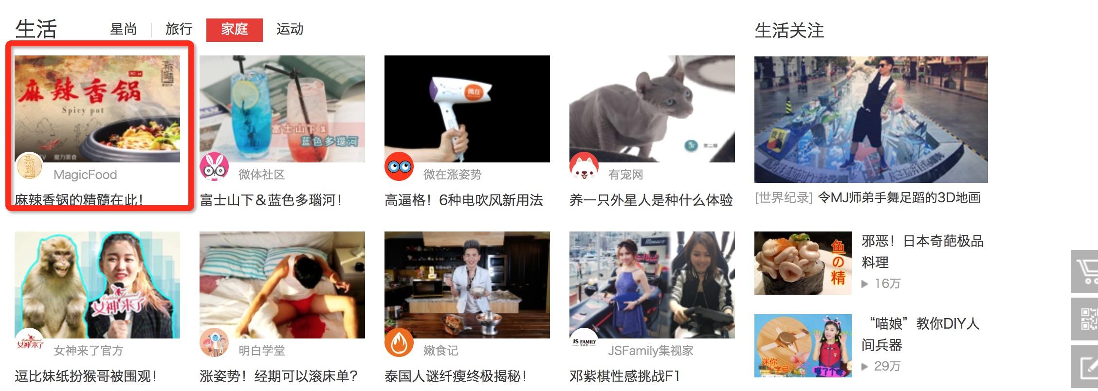 搜狐自媒体频道生活
