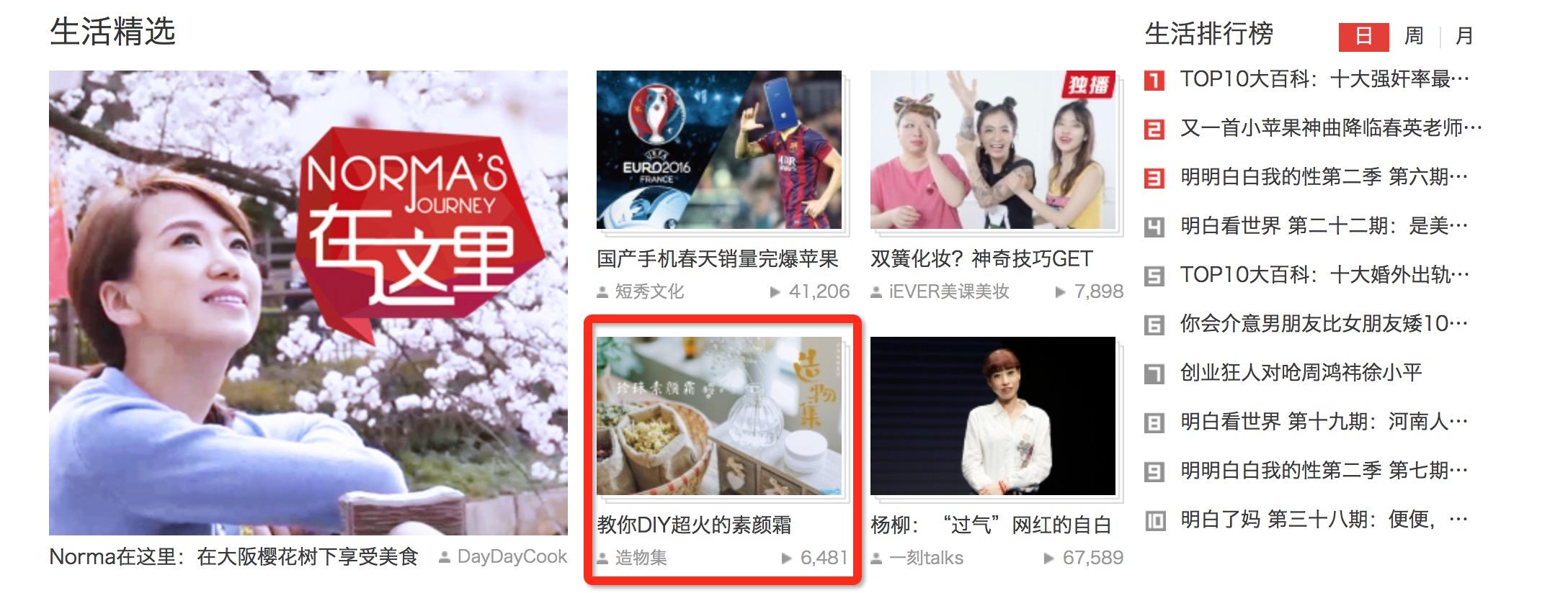 搜狐首页生活精选
