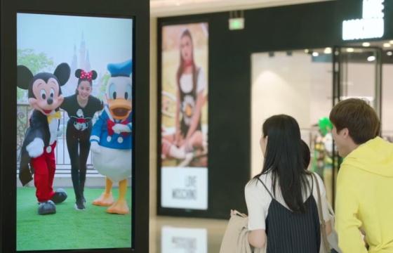 迪士尼 欧阳娜娜 真人互动短片