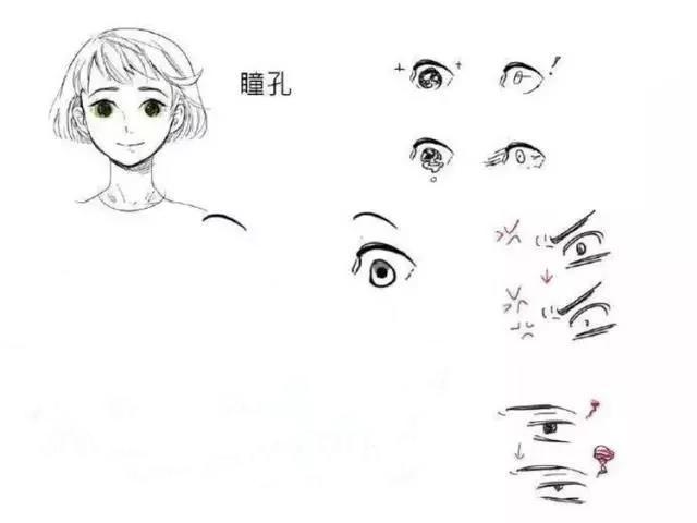 【精选】漫画人物表情绘画基础教程