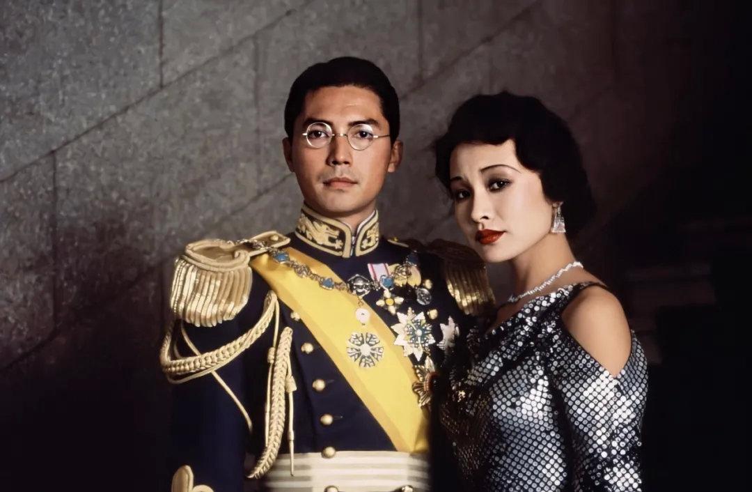《末代皇帝》男主角尊龙和女主角陈冲